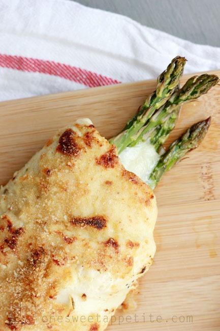 Chicken Asparagus Roll Prolean