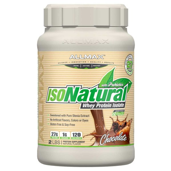 ISONATURAL WHEY PROTEIN CHOCOLATE