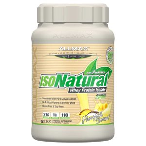 ISONATURAL WHEY PROTEIN PINEAPPLE COCONUT