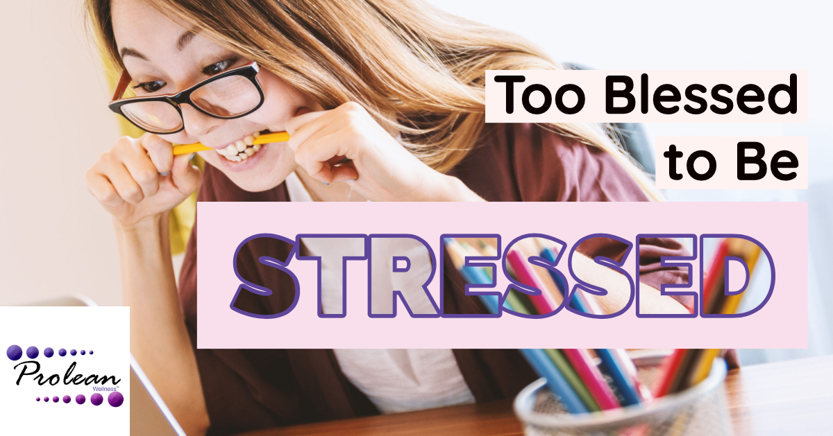 Too Blessed to Be Stressed: Staying Calm and Keeping Cortisol Levels Low