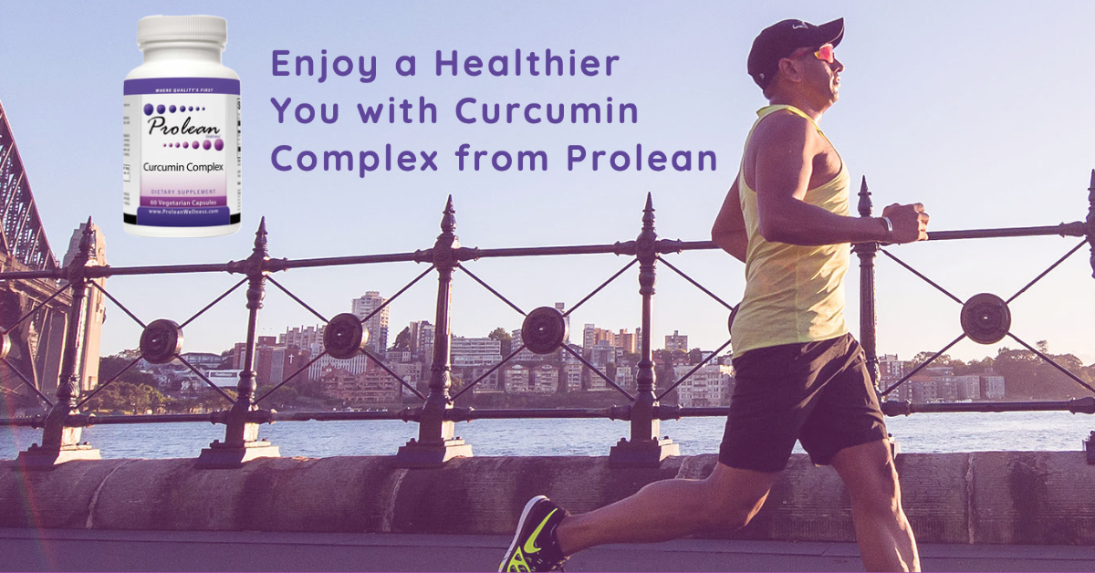 Enjoy a Healthier You with Curcumin Complex from Prolean
