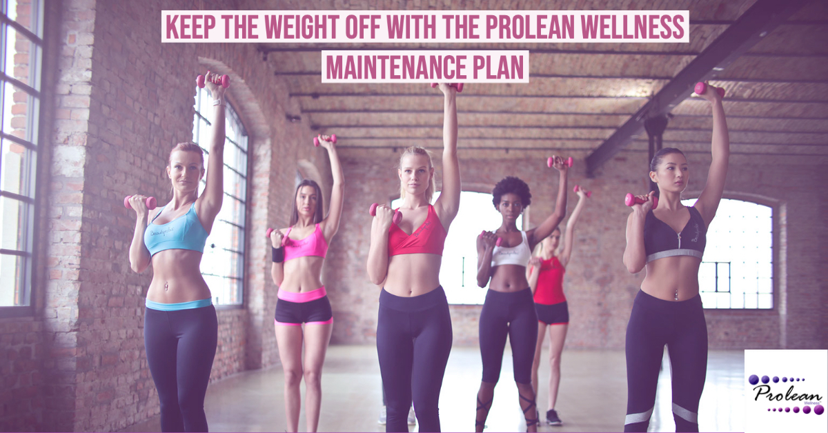 Keep the Weight Off with the Prolean Wellness Maintenance Plan