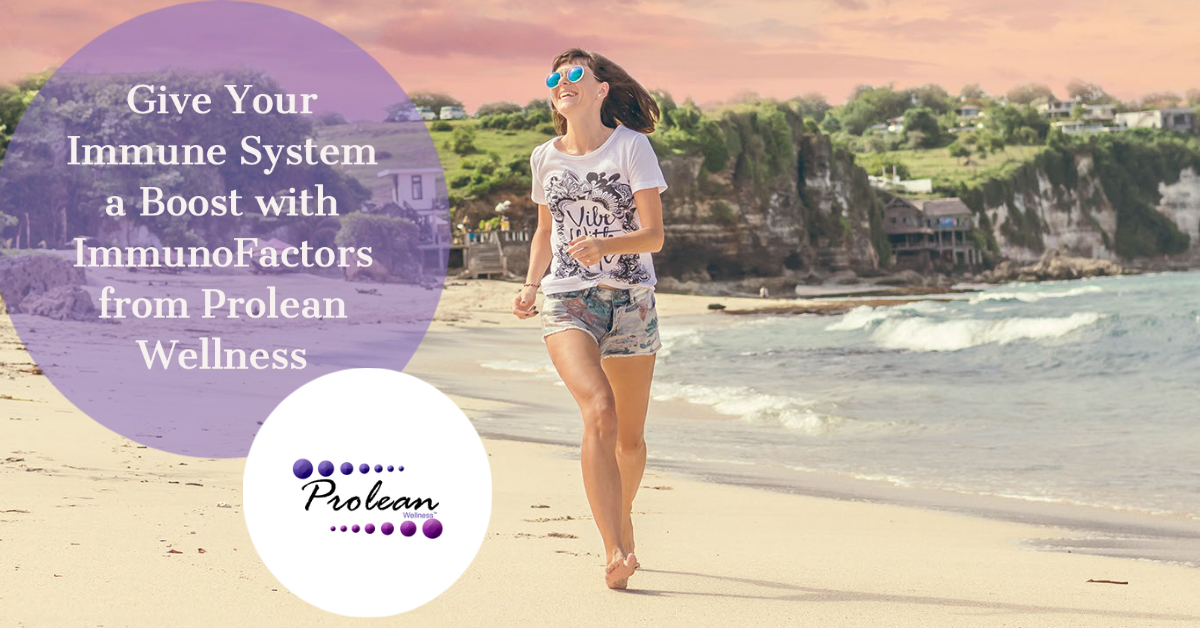 Give Your Immune System a Boost with ImmunoFactors from Prolean Wellness